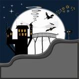 läskiga halloween Royaltyfria Bilder