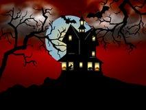 läskiga halloween Arkivfoton