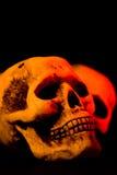 läskiga halloween arkivfoto