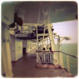 Läskigt fartyg Royaltyfria Bilder