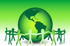 Lässt gehen Grün Lizenzfreie Stockfotos