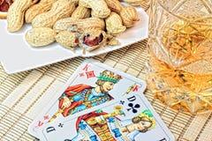 Lässt Glücksspiel Stockfotografie