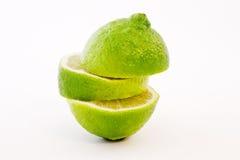 lätt berusad limefrukt royaltyfria foton