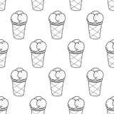 Lätt modell Linear-03 för glass royaltyfri illustrationer