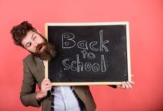 lätt take Undervisande stressig ockupation Lärare med ovårdat hår som är stressigt om skolårbörjan lärare arkivbild