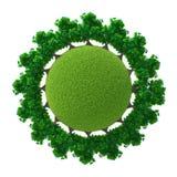 Lätt version 03 för grön planet Royaltyfri Foto