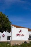 Lätthet för Jiffy Lube bilservice arkivfoton