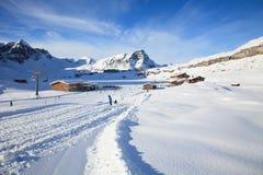 Lätthet för vinterbergsportar Royaltyfri Foto
