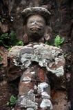 Lättnad av hinduiska tempel på min Son, Vietnam Arkivfoton