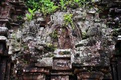 Lättnad av hinduiska tempel på min Son, Vietnam Royaltyfria Foton