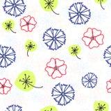 Lättrogen blom- modell Royaltyfri Illustrationer