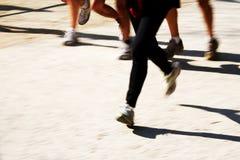 Läufer-Beine stockfotografie