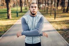 Läufer, der oben, Active, gesunder Lebensstil marming ist Lizenzfreie Stockbilder
