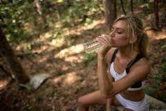 Läufer-Hydratation Stockfotos
