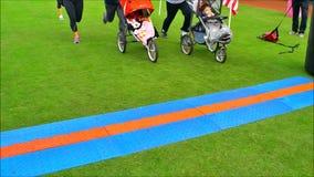 Läufer-Laufen stock footage