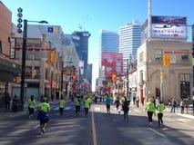 Läufer in Toronto stockfoto