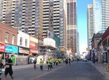 Läufer in Toronto Lizenzfreies Stockbild