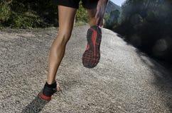 Läuferaufwärmen Lizenzfreies Stockfoto