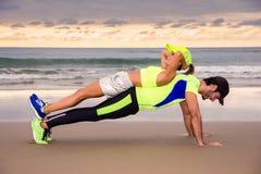 Läuferpaare Stockfoto