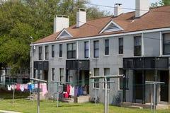 låg husinkomst Arkivbilder