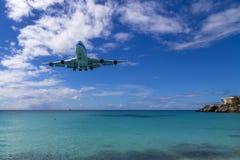 Låg landning Royaltyfria Bilder