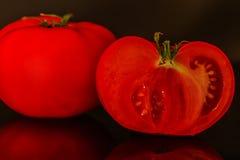 Låg nyckel- tomat Royaltyfri Fotografi