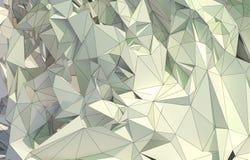 Låg poly abstrakt teckning Arkivfoton