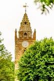 Låg sikt av Milton Malsor Church Northampton UK Royaltyfri Bild