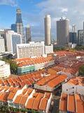 låg stigning för byggnader high Arkivbild