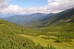 Låg Tatras sikt Arkivbilder