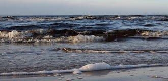 låg tide för kust Royaltyfri Bild