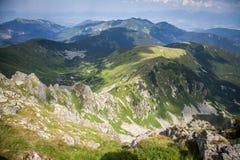 Låga Tatras berg, Slovakien royaltyfria bilder