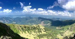 Låga Tatras, Chopok, Slovakien Arkivbilder