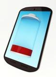 Lågt batteri Fotografering för Bildbyråer