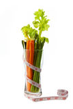 Lågt - kalorigrönsak Royaltyfri Foto