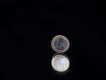 Lågt nyckel- euro Royaltyfri Foto