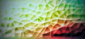 Lågt polygonal Stock Illustrationer