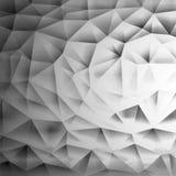 Lågt polygonal Vektor Illustrationer