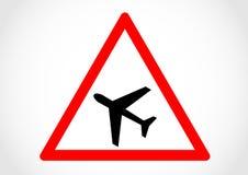 Lågt vägmärke för information om flygnivå Royaltyfri Foto