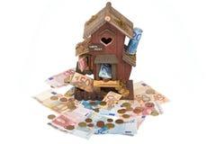 lån för 2 hus Arkivfoton