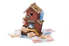 lån för 3 hus Royaltyfria Foton