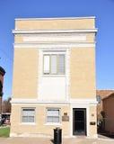 Lån- och förtroendeföretagsbyggnad Royaltyfri Fotografi