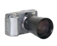 lång digital lins för kamera Royaltyfri Fotografi