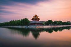 Lång exponering av Forbiddenet City fotografering för bildbyråer