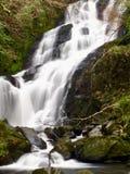 Lång exponering för Torc vattenfall, Killarney, Kerry, Irland royaltyfria foton