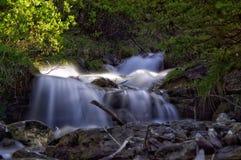 Lång exponeringsvattenfall Arkivbild