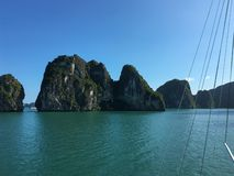 Lång fjärd Vietnam, South East Asia för mummel royaltyfria foton