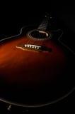 Lång gitarr Royaltyfria Bilder