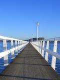 lång hamnplats Royaltyfri Foto