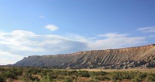 Lång hornMesa, Nevada Arkivbild